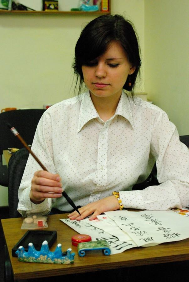 Рабочие место каллиграфа: инструменты, материалы и аксессуары для каллиграфии. на фото: Оксана Щербакова