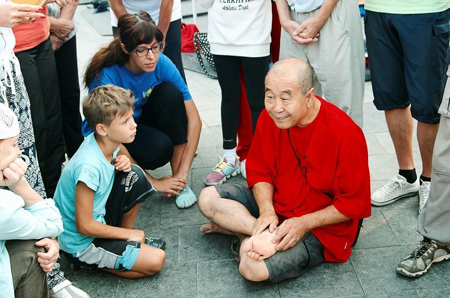 китайский массаж, туйна, Одесса, ушу, семинар, Аркадия