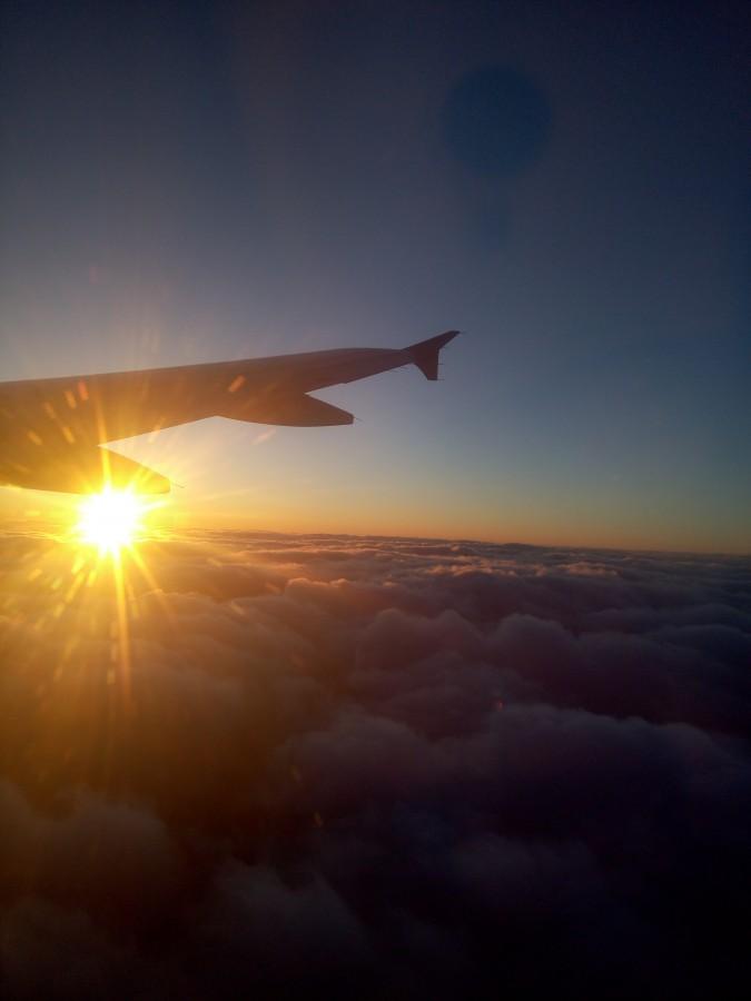 Полет на юг Китая
