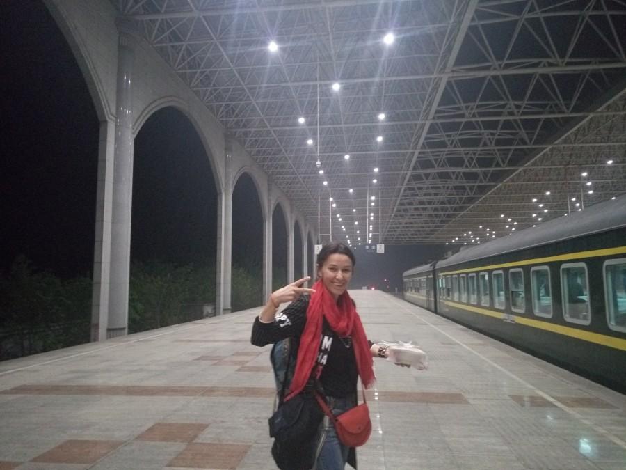 ключевыми точками стали: «Харбин – Хуайан – Сюйджоу – Горы Удан – Чонцин – Гуанджоу – Шенжень – Гонконг - Харбин».