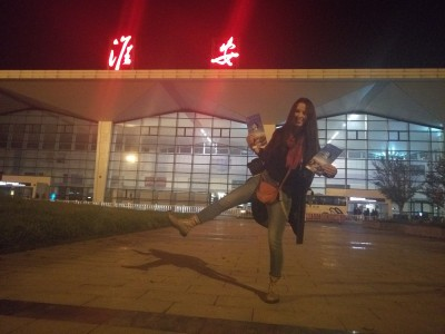 Светлана перед путешествием на юг Китая