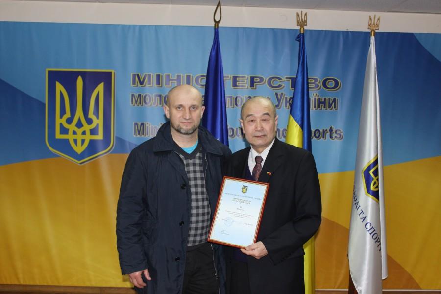 Кравчук Александр и мастер Му Юйчунь