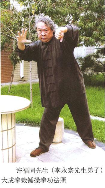 Мастер Сюй Футун демонстрирует Да Чэн Цюань