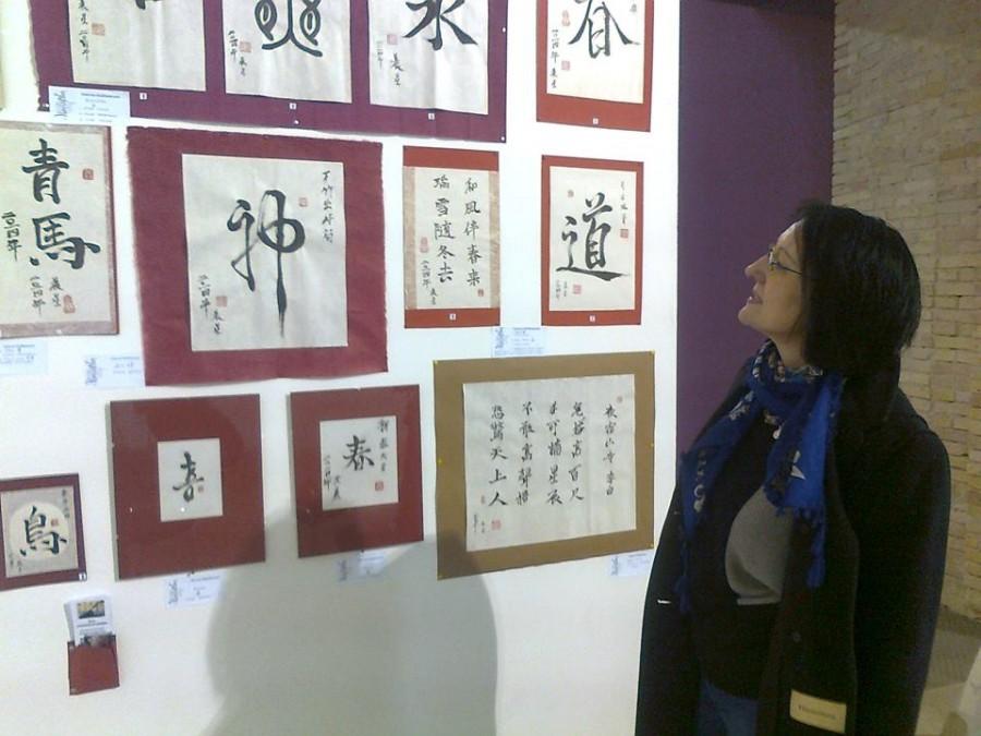 Работы, представленные Ассоциацией на фестивале каллиграфии в Мыстецком Арсенале