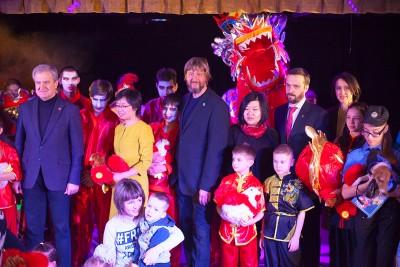 Китайский новый год 2017 для детей ДЦП в Доме с Ангелом, Одесса