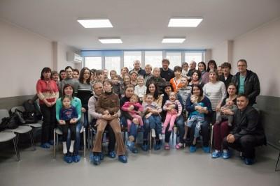 Фото участников семинара для родителей детей с ДЦП в Пуще Водице 2017. Автор: Наталия Волкова