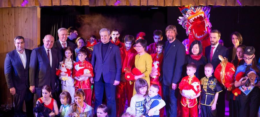 Китайский новый год в Доме с Ангелом для детей, имеющими диагноз ДЦП