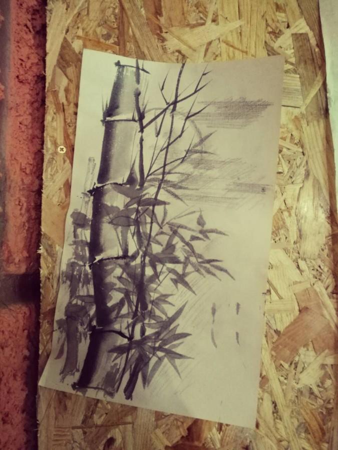Первые уроки живописи