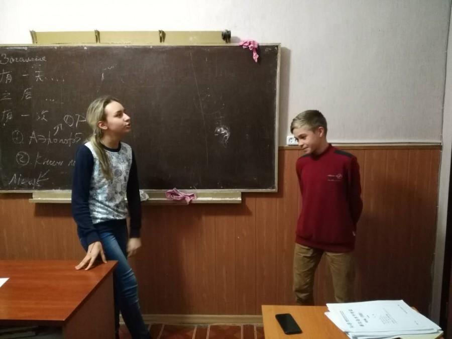 На уроке: тренируем разговорную речь